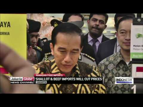 Jokowi Confident Commodity Prices Will Drop Second Week Of Ramadan