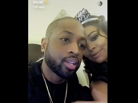 Dwyane Wade & wife Gabrielle Union Celebrate New Year on Private Jet & travel to Miami to party