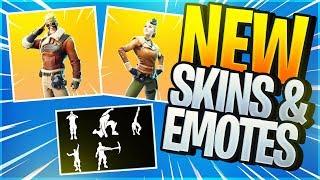 *NEU* Leaked Skins & Emotes ingame Season 7 - Fortnite News