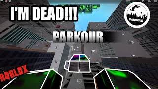 Doing Parkour in ROBLOX!!!!