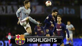 Celta Vigo vs Barcelona 1-1 - All Goals & Extended Highlights - La Copa 04/01/2018 HD