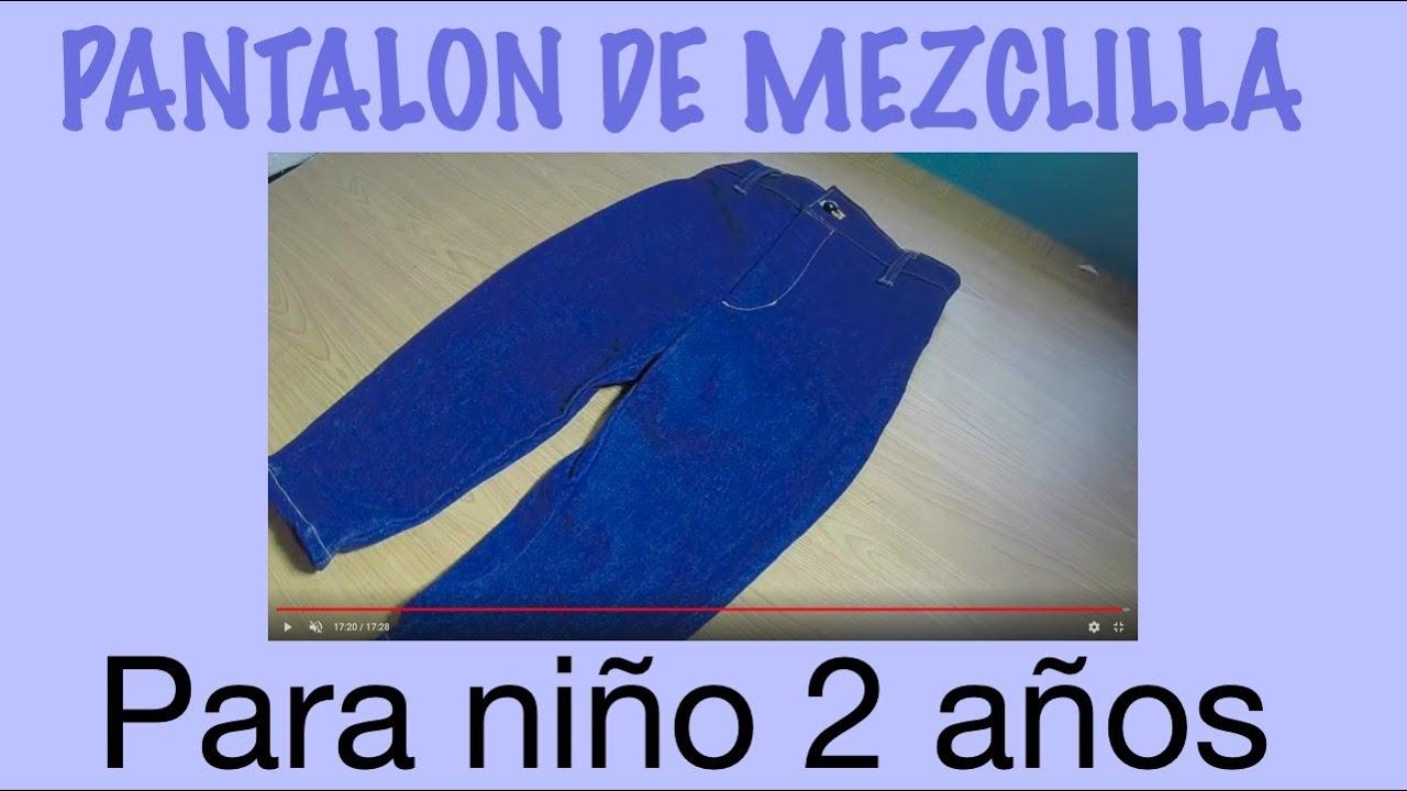 Pantalon De Nino De 2 Anos Youtube
