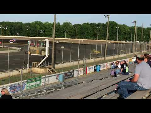 Billy Pauch Highlights - 6/8/19 - Bridgeport Speedway 3/8ths