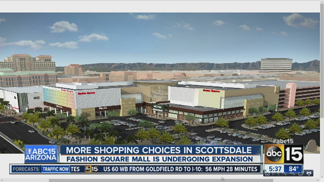 Millions in damages at Scottsdale Fashion Square Mall after ...