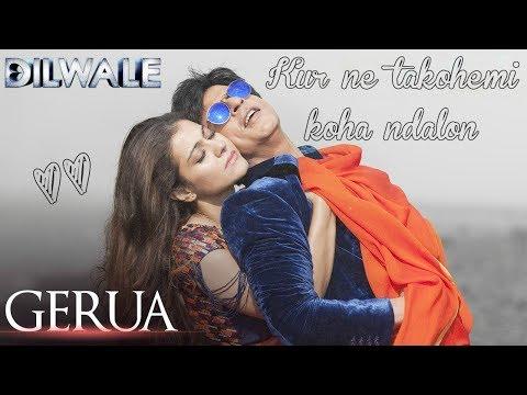 Gerua Albanian Lyrical | Dilwale | Shah Rukh Khan, Kajol | Arijit Singh, Antara Mitra