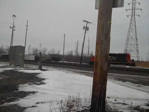 CN Light Power Move at Pine Junction