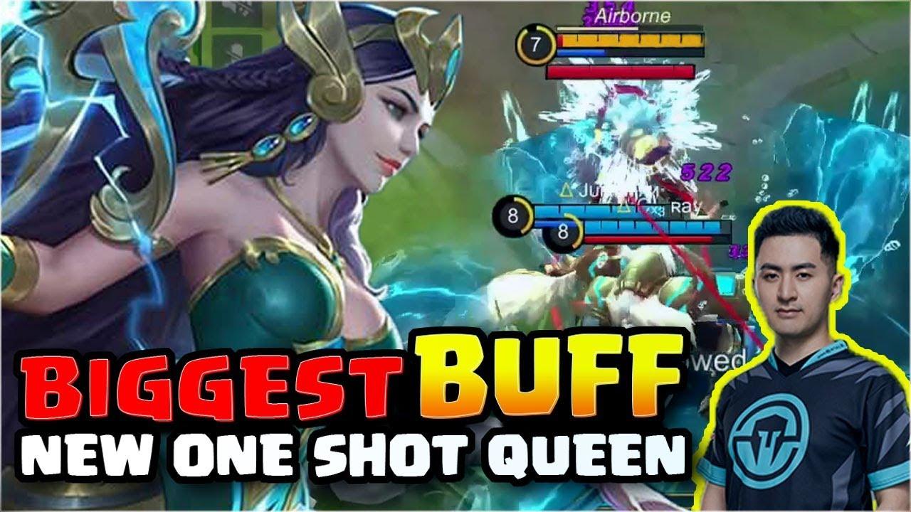 THIS KADITA BUFF is overdone! Mobile Legends Kadita Mythical Glory 16/2/16 Gameplay