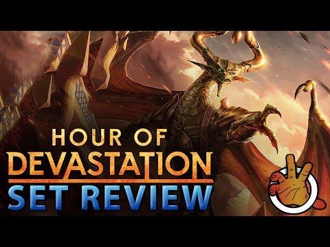 Hour of Devastation Commander SET REVIEW | The Command Zone #165 | Magic Commander/EDH Podcast