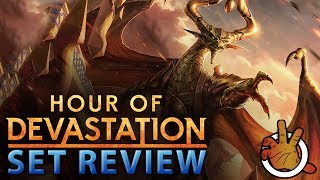 hour of devastation commander set review the command zone 165 magic commanderedh podcast