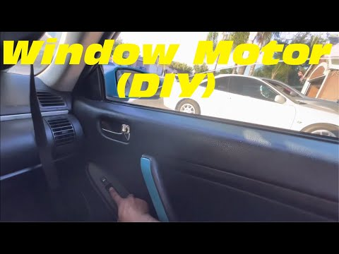 Infiniti G35 Window Motor Fix (EASY DIY)
