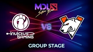 Invictus Gaming vs Virtus.pro - MDL Macau 2019: Group Stage