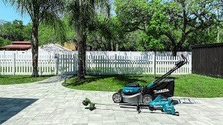 Practical Residential Use of the Makita 36V outdoor Power Tools   Mower, Trimmer and Blower