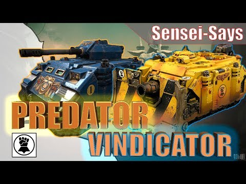 Ламповый обзор на Predator и Vindicator (вот блиц) WoT Blitz