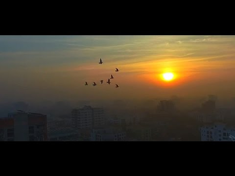 Incredible Drone Video of Bangladesh's Beautiful Countryside (HD)