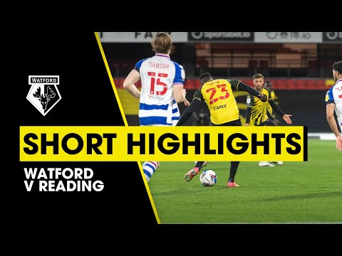 Watford Reading Goals And Highlights