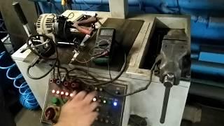 Opel Zafira B ta'mirlash keyin eshak bo'yicha alternator tekshirish.