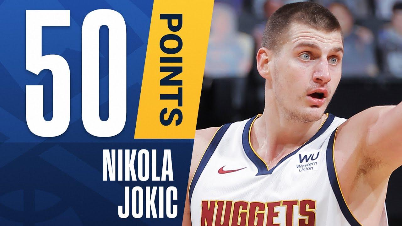 ???? CAREER-HIGH 50 Points For Nikola Jokic ????