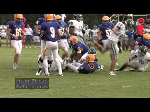 Catholic of Ponte Coupee Vs Hanson Memorial High School - Franklin, LA - September 7, 2012