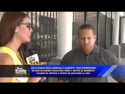 Julio Ramos (Ex Voltio) le envia mensaje directo a Almighty y Bad Bunny