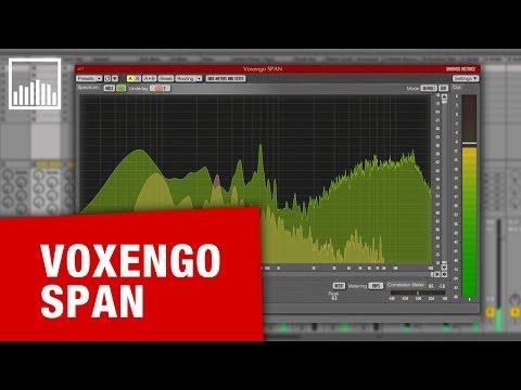 Voxengo SPAN - Darmowy analizator widma