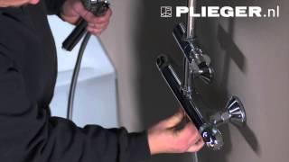 Plieger instructiefilm: hoe monteer ik een Plieger douche thermostaatkraan?