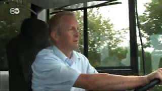 В Германии выпустили самый длинный в мире автобус(, 2012-09-24T11:31:20.000Z)