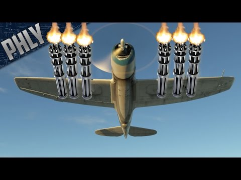 50.cal BUFF - Best Guns In The GAME?! (War Thunder Plane Gameplay)