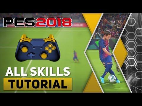 PES 2018 All Tricks And Skills Tutorial [Xbox One, Xbox 360 & PC]