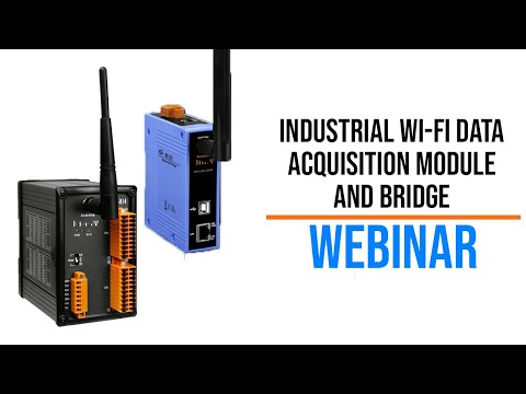Industrial Wi-Fi Data Acquisition Module and Bridge