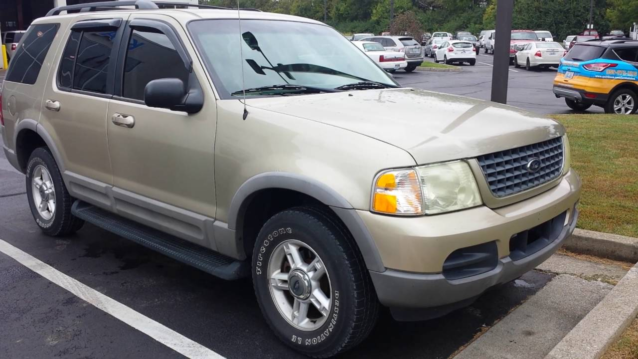 2002 Ford Explorer Xlt >> 2002 Ford Explorer Xlt Review