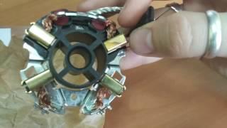 видео Замена щеткодержателя стартера
