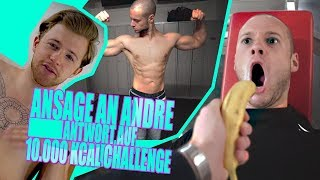 Ansage an Andre | Antwort auf 10.000 kcal Challenge | inscope21
