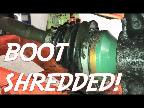 CV BOOT CARNAGE - HOW TO REPLACE A CV BOOT