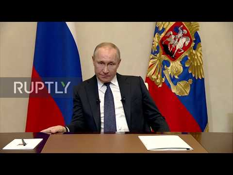 Russia: Putin announces nationwide measures to slow coronavirus spread