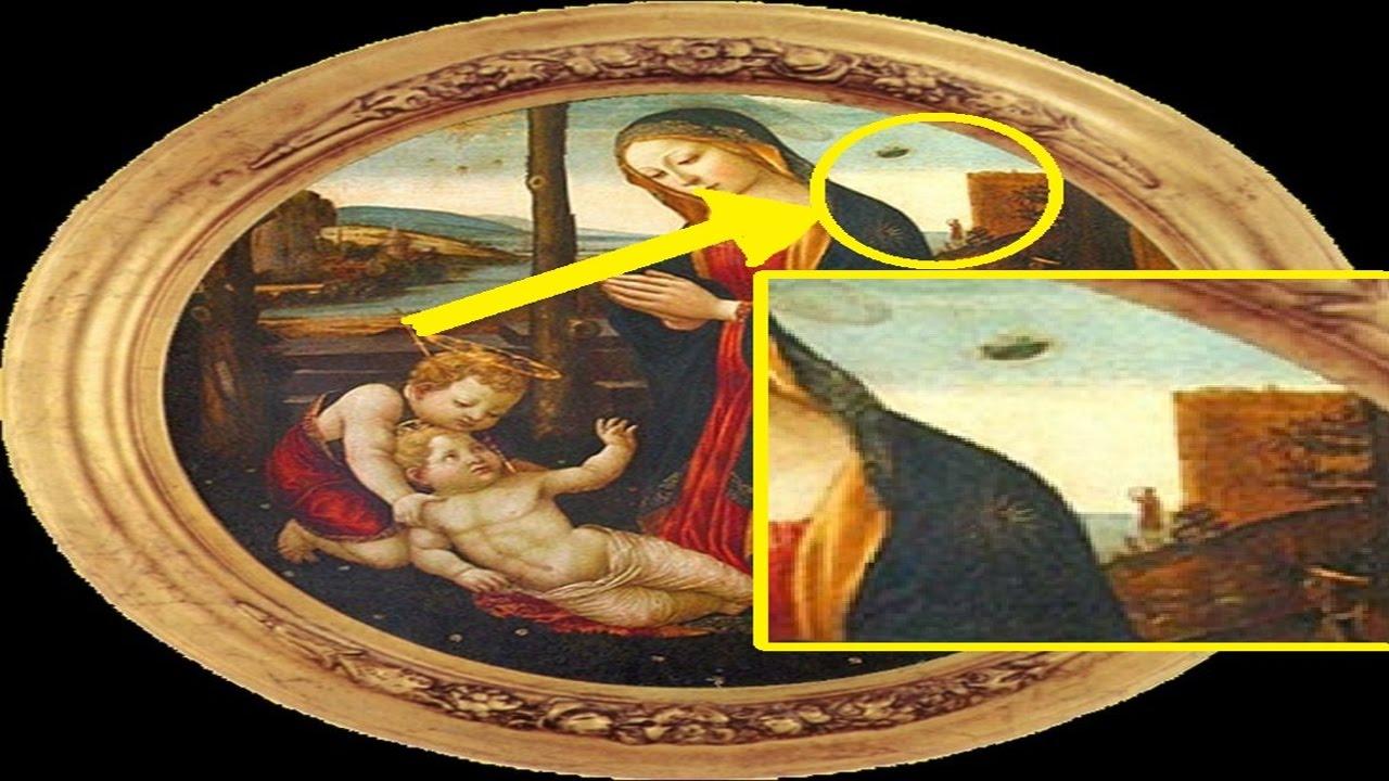 Ovnis y extra os objetos representados en los cuadros mas - Los cuadros mas bonitos ...