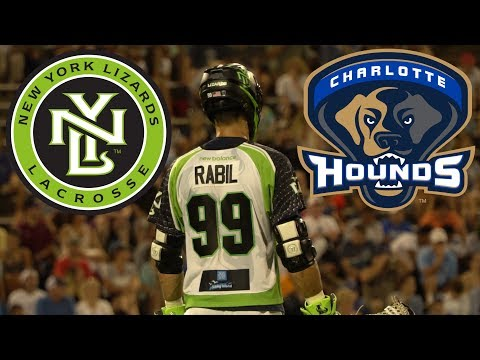 2017 MLL Highlights - New York Lizards vs Charlotte Hounds