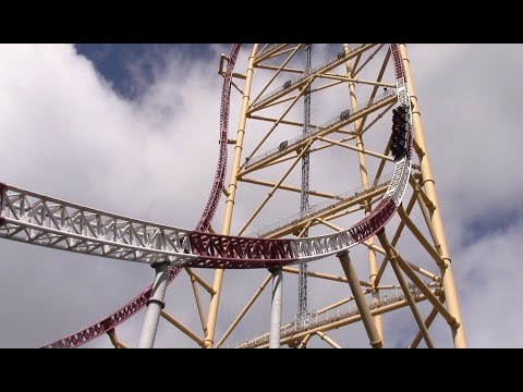 Top Thrill Dragster Off-Ride HD 60fps