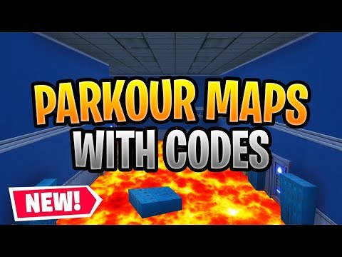 Best Fortnite PARKOUR Maps WITH CODES! *MUST PLAY* Parkour Map Compilation
