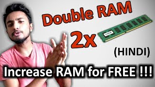 [HINDI] Increase your RAM without buying NEW || Faster PC Guaranteed ||