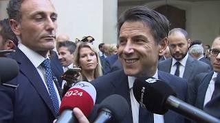 Punto stampa del Presidente Conte a Firenze