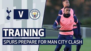 TRAINING | SPURS PREPARE FOR MAN CITY CLASH