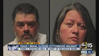 Deadly brawl outside Cottonwood Walmart