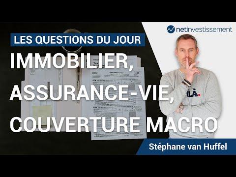 Immobilier, assurance-vie, couverture macro : les questions du jour [Vidéo BFM]