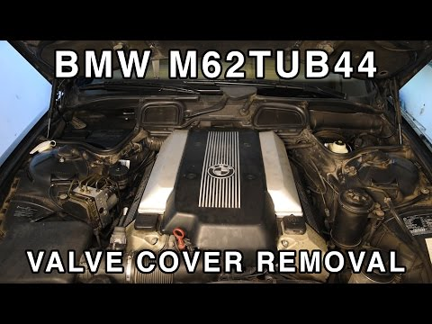 M62TUB44 Ignition Coil Cover Removal & Cleaning