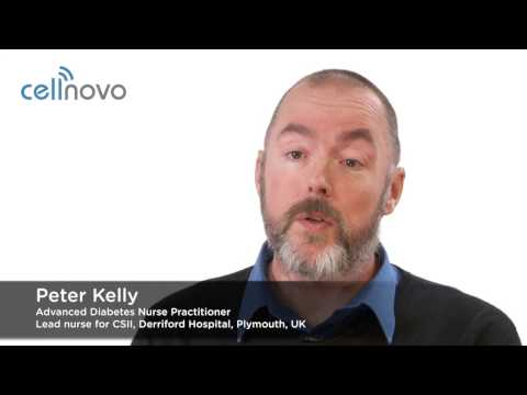 Interview with Peter Kelly, Diabetes Specialist Nurse, about the Cellnovo System