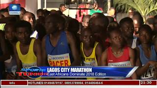 Reviewing 2018 Lagos City Marathon Pt 2 | Sports Tonight |