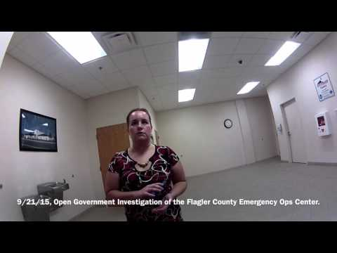 Flagler Emergency Ops Center/Open Government Investigations