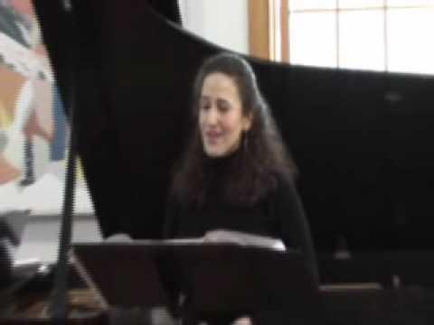 Schubert: An die Musik, Karen Lubeck, soprano, Eric Stumacher, piano
