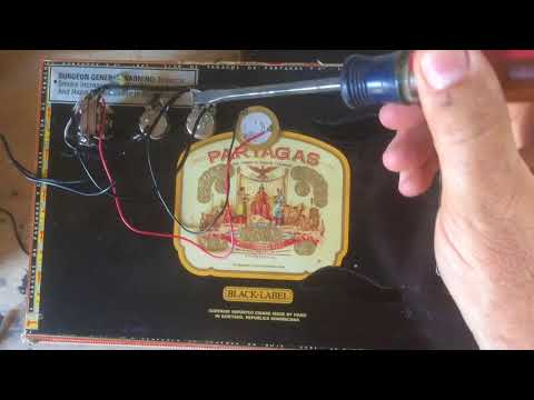 Electronics and Wiring for Cigar Box Guitar - YouTubeYouTube