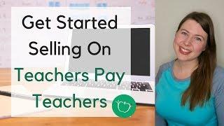 How to Create An Account on Teachers Pay Teachers | Teachers Pay Teachers Tutorial